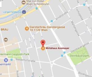 Stammtisch Standort Wirtshaus Assmayer
